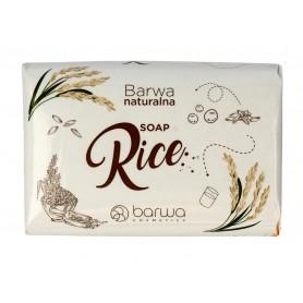 BARWA Naturalna Mydło w kostce Rice 100g