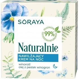 Soraya Naturalnie Krem nawilżający na noc 50ml