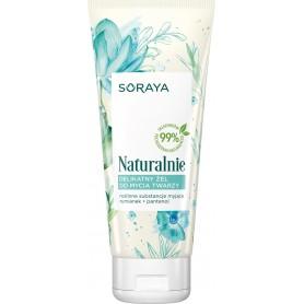 Soraya Naturalnie Delikatny Żel do mycia twarzy 150ml