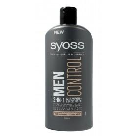Schwarzkopf Syoss Men Control Szampon 2in1 do włosów normalnych