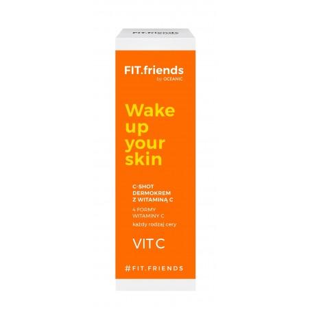 FIT.friends Wake Up Your Skin Dermokrem C-Shot z witaminą C 30ml