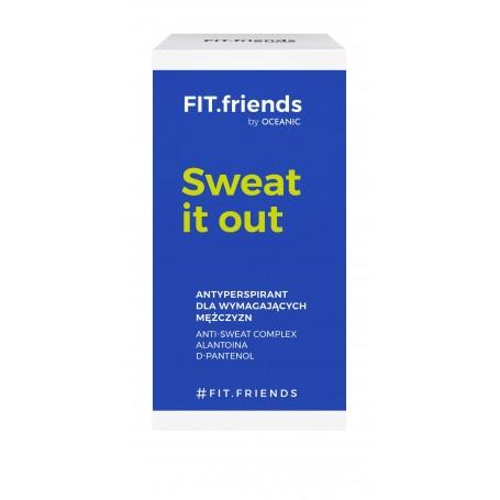 FIT.friends Sweat It Out Antyperspirant dla wymagających