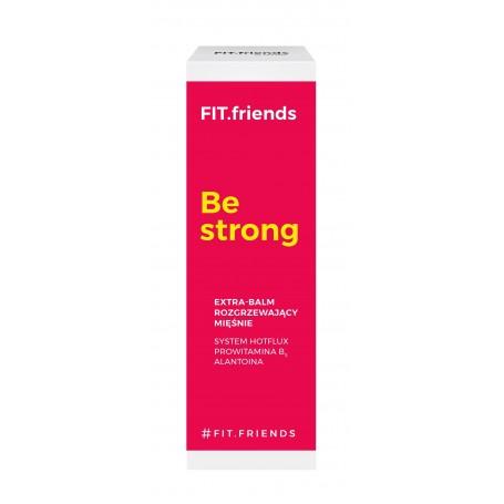 FIT.friends Be Strong Extra Balsam rozgrzewający mięśnie 30ml