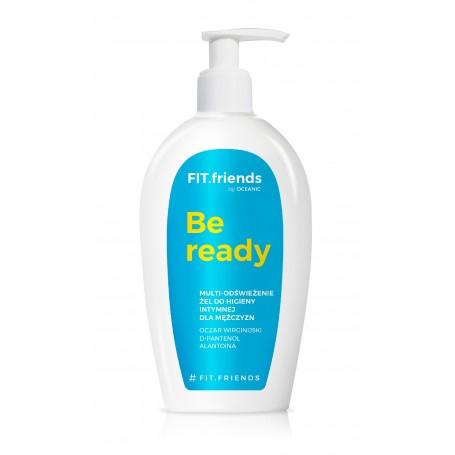 FIT.friends Be Ready Żel do higieny intymnej dla mężczyzn