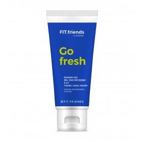FIT.friends Go Fresh Żel pod prysznic 3w1 dla mężczyzn 200ml
