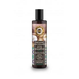 Planeta Organica Macadamia Szampon do włosów matowych i suchych