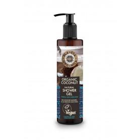 Planeta Organica Coconut Żel pod prysznic nawilżający 280ml