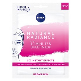 Nivea Urban Skin Maska w płacie 10-minutowa Natural Radiance