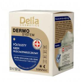 Delia Cosmetics Dermo System Półtłusty Krem przeciwzmarszczkowy