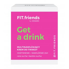 FIT.friends Get a Drink Multinawilżający Krem odżywczy-cera