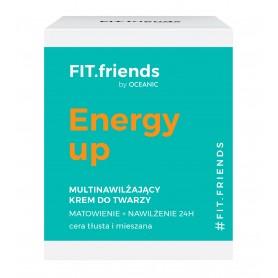 FIT.friends Energy Up Multinawilżający Krem matujący-cera