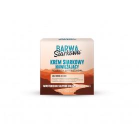 BARWA Siarkowa Krem siarkowy długotrwale nawilżający - cera