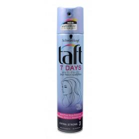 Schwarzkopf Taft 7Days Lakier do włosów Anti-Frizz super mocny