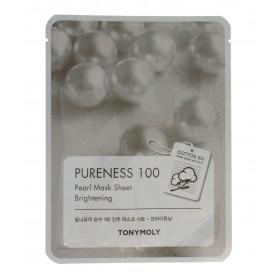 TONY MOLY PURENESS 100 Perła Maska na płachcie 21ml
