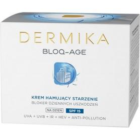 Dermika Bloq-Age Krem hamujący starzenie na dzień SPF15 50ml