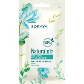 Soraya Naturalnie Maska na tkaninie Roślinne Wygładzenie 17g