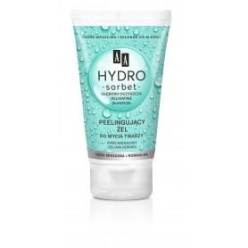 AA Hydro Sorbet Peelingujący Żel do mycia twarzy - cera