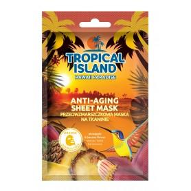 Marion Tropical Island Maska na tkaninie przeciwzmarszczkowa