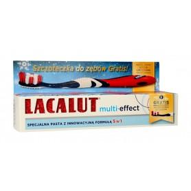 Lacalut Pasta do zębów Multi-Effect 5w1 75ml + szczoteczka 1op.