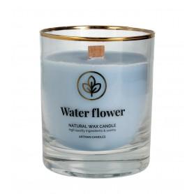 ARTMAN Organic Świeca zapachowa z drewnianym knotem Water