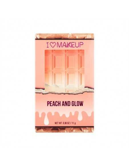 Makeup Revolution Chocolate Peach and Glow paleta do konturowania