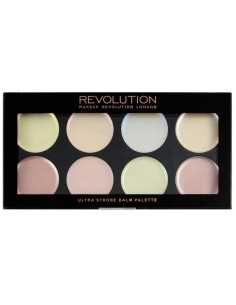 Makeup Revolution The Face Works Medium Dark paleta do konturowania