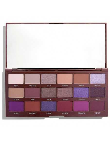 Makeup Revolution paleta cieni do powiek Violet Chocolate  kaseta