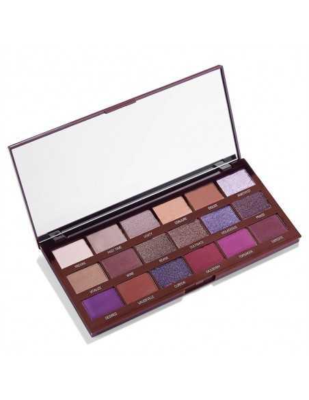 Makeup Revolution paleta cieni do powiek Violet Chocolate