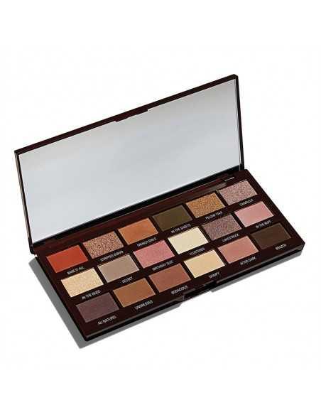 Makeup Revolution Nudes Chocolate Palette paleta cieni do powiek kaseta