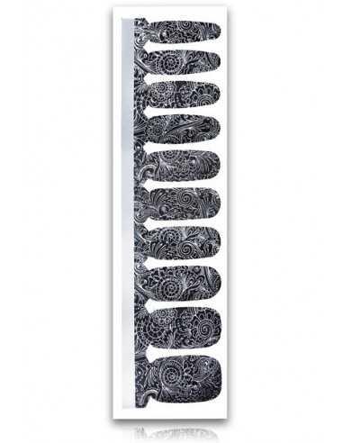 Naklejki NeoNail Black&White A-04