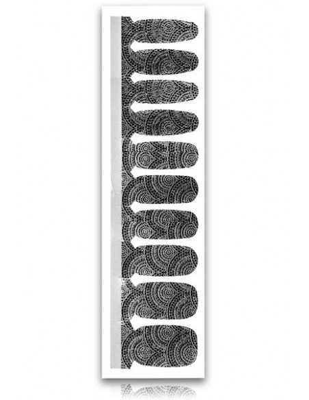 Naklejki NeoNail Black&White A-06