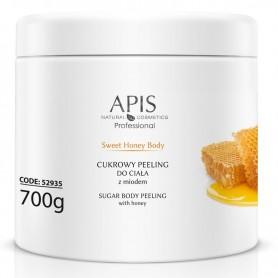 APIS Sweet Honey Body cukrowy peeling z miodem 700g