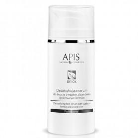 APIS Detoksykujące serum do twarzy z węglem z bambusa i