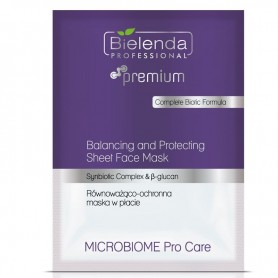 BIELENDA MICROBIOME Pro Care Równoważąco‑ochronna maska w