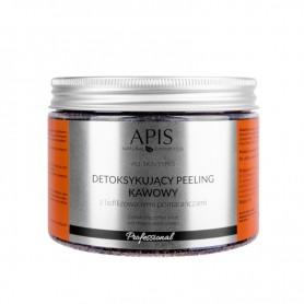 APIS Detoksujący peeling kawowy Pomarańcz 300g