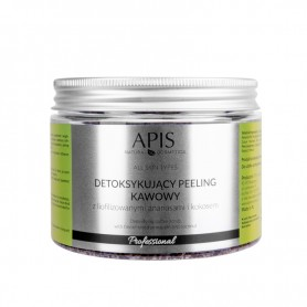 APIS Detoksujący peeling kawowy Ananas 300g