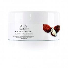 APIS Naturalne masło shea z olejkiem argan. do masażu twarzy