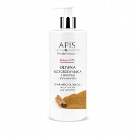APIS Oriental SPA oliwka rozgrzewająca z imbirem i cynamonem