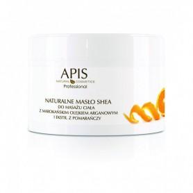 APIS Naturalne masło shea z olejkiem arganowym do masażu ciała