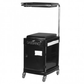 POMOCNIK - TABORET DO PEDICURE 23 PLUS BLACK