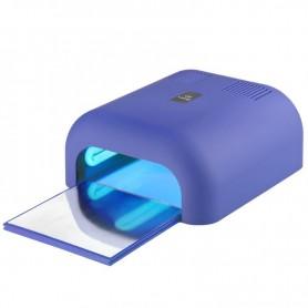 LAMPA UV 36W TIMER SOFT LIGHT BLUE Z WYSUWANYM DNEM