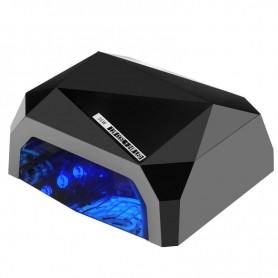 LAMPA DIAMOND 2w1 UV LED+CCFL 36W TIMER + SENSOR BLACK