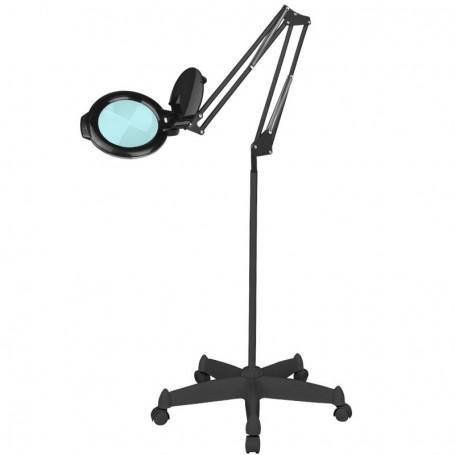 """LAMPA LUPA LED MOONLIGHT 8012/5"""" BLACK ZE STATYWEM"""