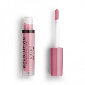 Makeup Revolution Violet 143 Pomadka do ust w płynie Sheer Brillant  1szt