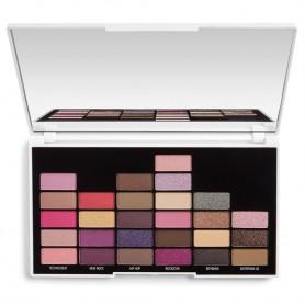 I Heart Revolution Palette 27 Zestaw cieni do powiek NOW That's I Call Makeup 90s  1op.