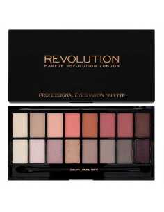 Makeup Revolution paleta 16 cieni New-trals vs Neutrals