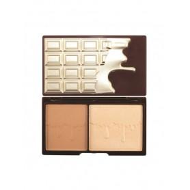 I Heart Makeup Chocolate Bronze & Glow - Paletka Do Konturowania Twarzy  11g