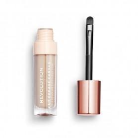 Makeup Revolution Cut Crease Canvas Baza pod cienie w płynie Create Medium 1szt