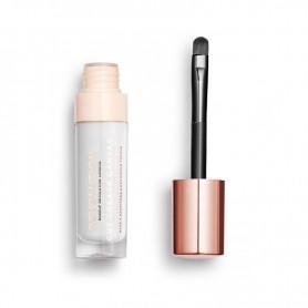 Makeup Revolution Cut Crease Canvas Baza pod cienie w płynie Halo White 1szt