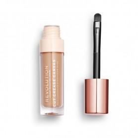 Makeup Revolution Cut Crease Canvas Baza pod cienie w płynie Etch Deep 1szt